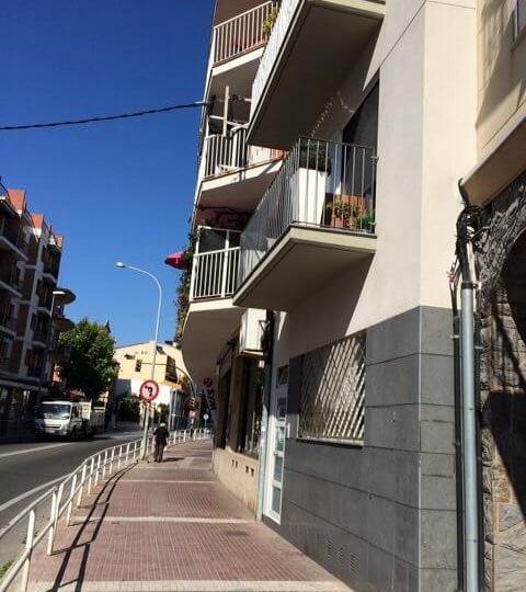 Visa calle de ubicación de Loft en alquiler Canet de Mar