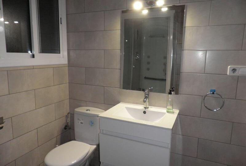 Baño reformado de Piso en Alquiler en Premià de Mar