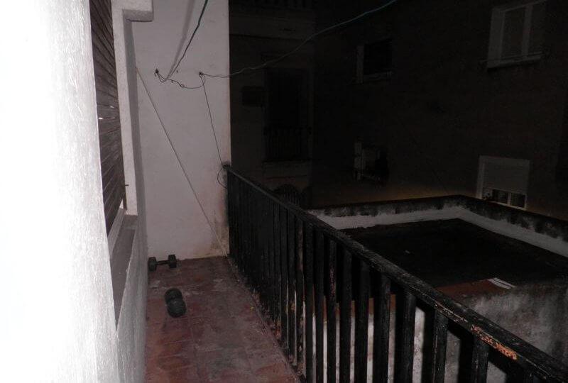 Vista de balcón de Piso en Alquiler en Premià de Mar