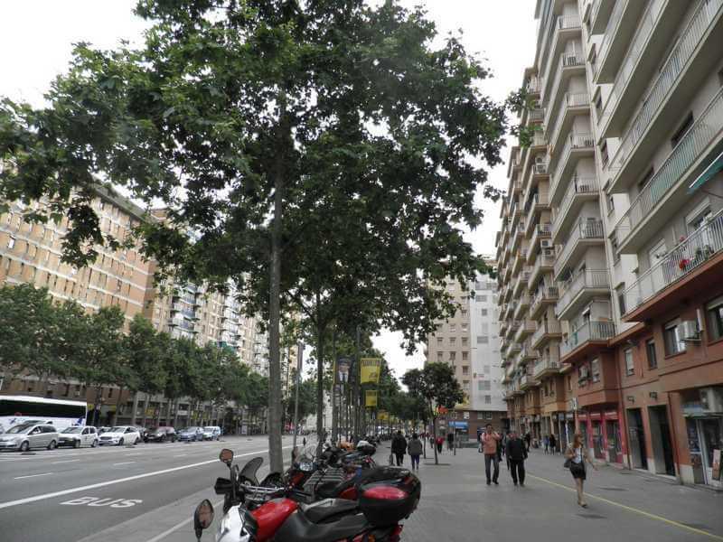 Vista exterior de Piso en venta en La Sagrera Barcelona