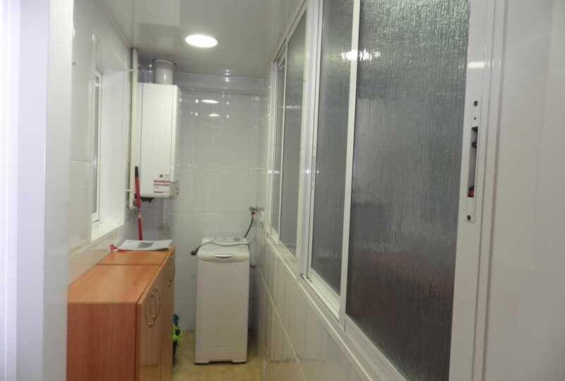 Pasillo interior de Cocina de Piso en venta en La Sagrera Barcelona