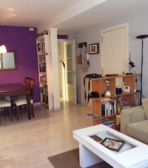 Salón equipado de Piso en alquiler Vilassar de mar
